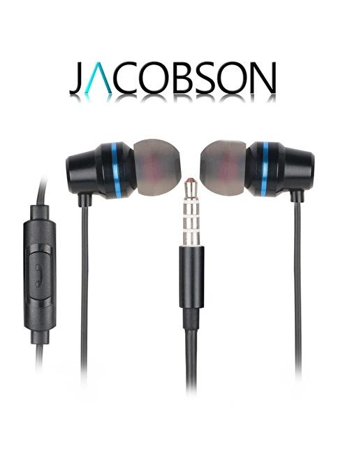 Jacobson JK-4 İos ve Android Uyumlu Mikrofonlu Kulaklık Siyah